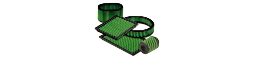 PAR REFERENCE GREEN AIR FILTERS - Filtre à air de remplacement